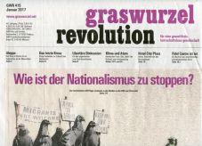 Graswurzelrevolution Nr. 415 (Jänner 2017)