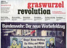 Graswurzelrevolution Nr. 416 (Februar 2017)