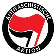 Aufkleber Antifaschistische Aktion r/s