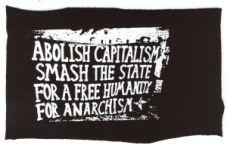 Abolish capitalism (Transpi)