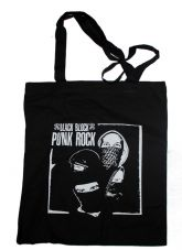 Stoffbeutel Black block punk rock