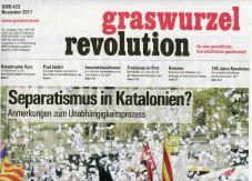 Graswurzelrevolution Nr. 423 (November 2017)