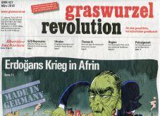 Graswurzelrevolution Nr. 427 (März 2018)