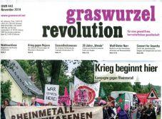 Graswurzelrevolution Nr. 443 (November 2019)