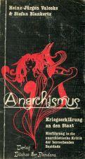 (Antiquariat) Anarchismus. Kriegserklärung an den Staat