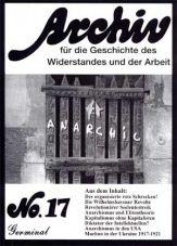 Archiv für die Geschichte des Widerstandes und der Arbeit 17