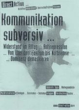 Direct Action - Heft: Kommunikation subversiv