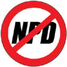 Gegen die NPD