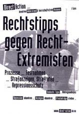 Direct Action - Heft: Rechtstipps gegen Recht-Extremisten