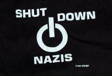 Shut down Nazis (Taill)