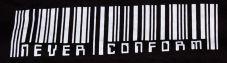 Never conform (Kapuzi)